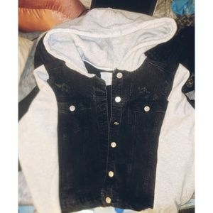 Jackets & Blazers - Sky and Sparrow Denim Jacket